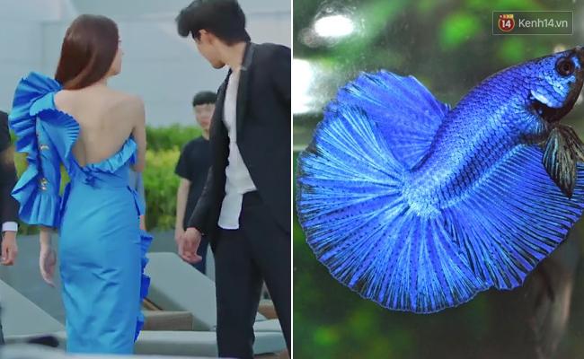 Krystal mặc sến như con cá cảnh, tát Thủy thần Nam Joo Hyuk cái bốp - Ảnh 5.