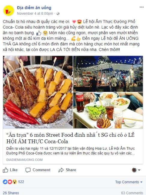Lễ hội ẩm thực đường phố Coca-Cola: Giới trẻ Sài Gòn lại có thêm địa điểm để ăn, chơi, sống ảo - Ảnh 2.