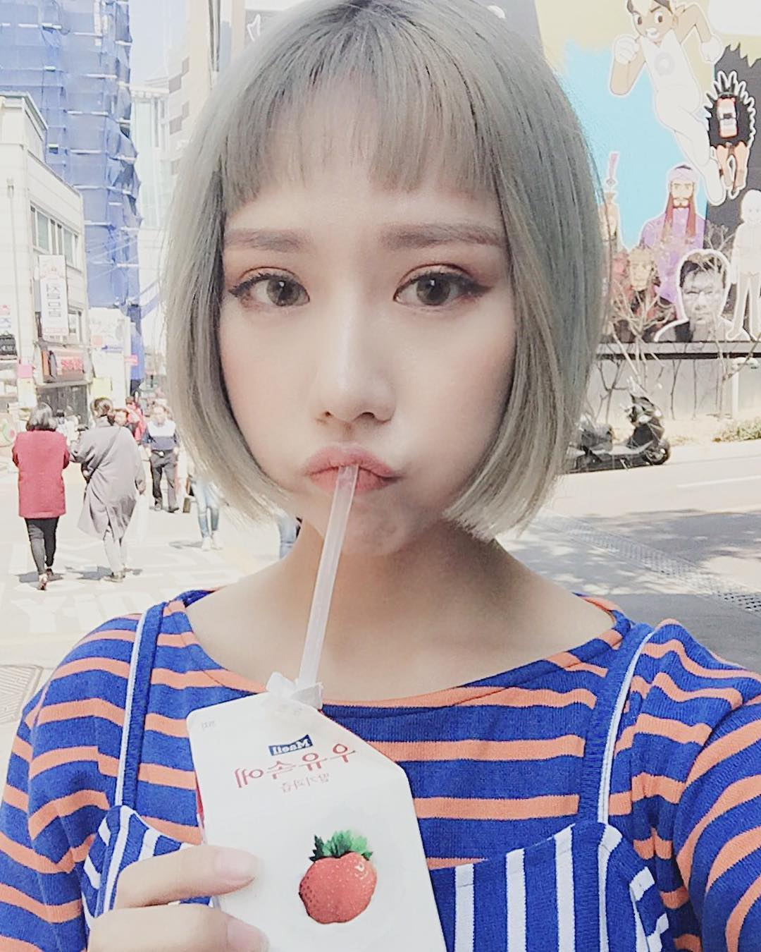 Tưởng đã hạ nhiệt, mốt tóc mái Maruko ngắn cũn lại đang thu phục hàng loạt sao và hot girl Việt - Ảnh 5.