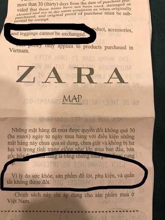 """Viết status kiện Zara Hà Nội lừa đảo vì không được đổi legging giá 999.000, vị khách nữ lại bị cư dân mạng """"ném đá"""" ngược - Ảnh 6."""