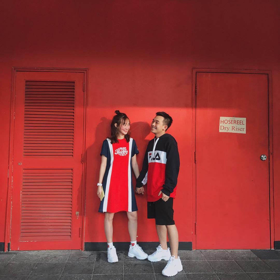 Giới trẻ châu Á người người nhà nhà đang diện T-shirt và sneaker Fila chất phát ngất ra sao? - Ảnh 23.