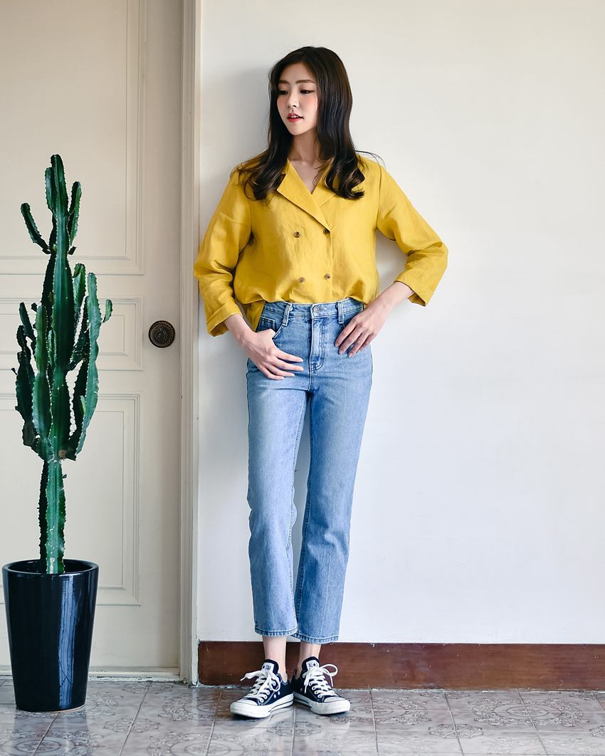 Nếu đã chán sơmi truyền thống, bạn nhất định nên thử kiểu áo sơmi 2 hàng khuy sắp thành hot trend này - Ảnh 7.