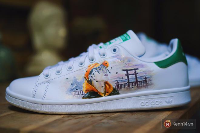Đôi sneaker mà Sky nào cũng thèm muốn: adidas Stan Smith độ Sơn Tùng M-TP - Ảnh 4.