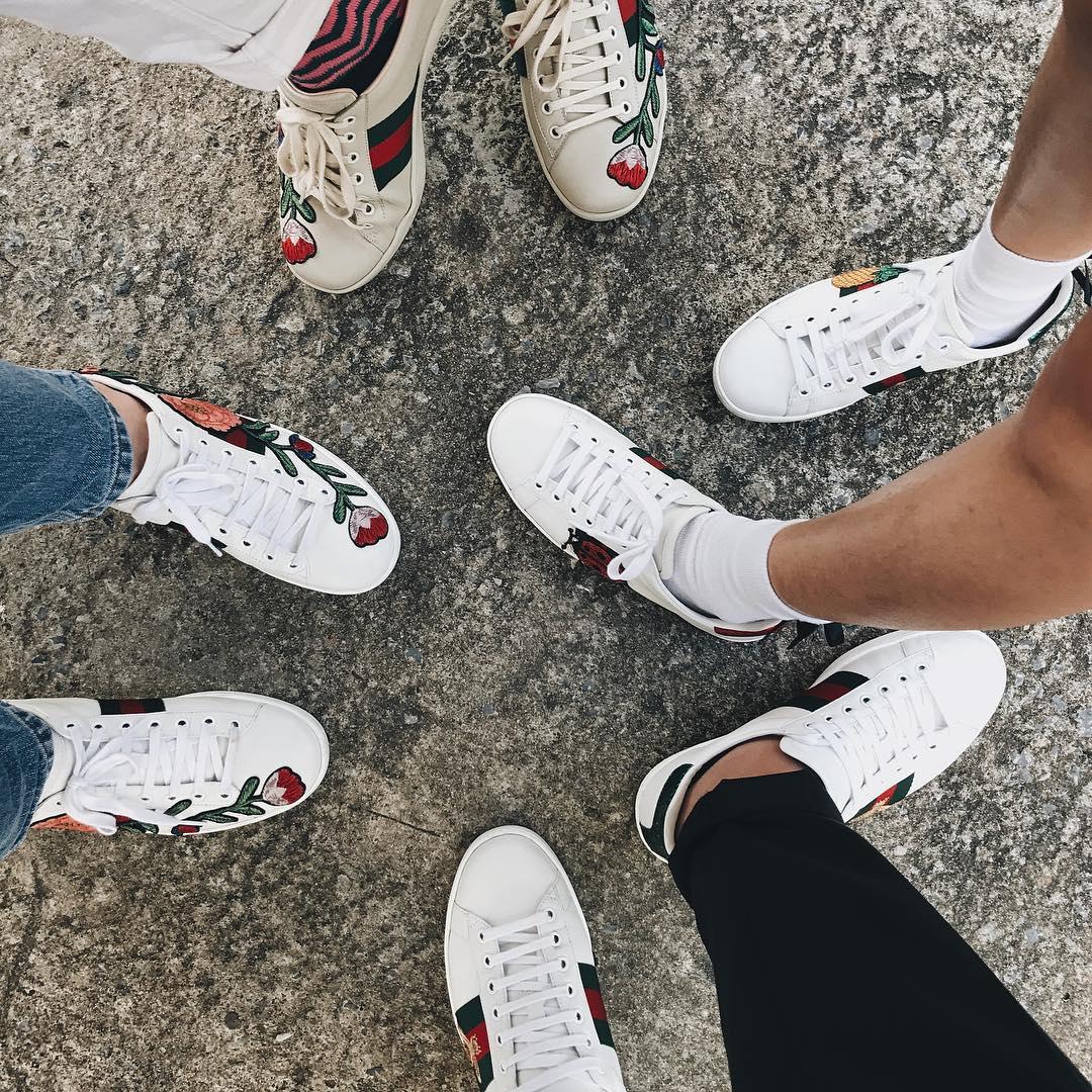 Giày sneaker thêu, xu hướng hoa hòe hoa sói mà bạn cứ lướt Instagram là gặp thời gian này - Ảnh 6.