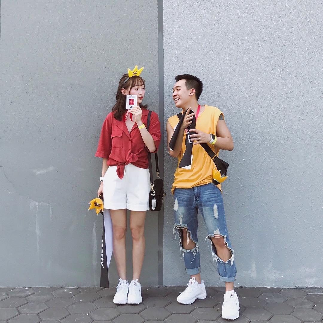 Giới trẻ châu Á người người nhà nhà đang diện T-shirt và sneaker Fila chất phát ngất ra sao? - Ảnh 24.