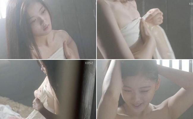 Khổ thân 5 sao nữ Hàn chưa đủ 18 đã phải đóng cảnh yêu đàn anh già hơn cả giáp - Ảnh 10.