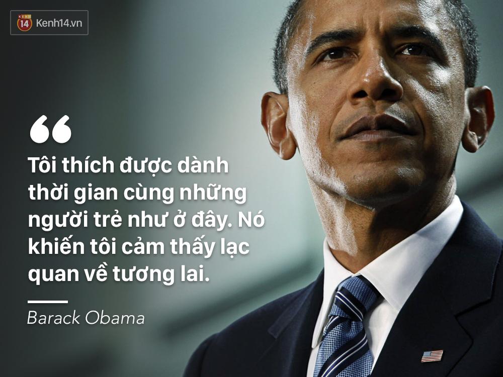 Cựu Tổng thống Obama là người mở đầu xu hướng người nổi tiếng thế giới nói chuyện cùng bạn trẻ.
