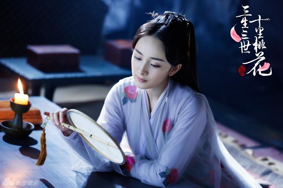 Tam sinh tam thế đã hết, màu son ngọt ngào Dương Mịch diện trong phim vẫn khiến các cô nàng xôn xao - Ảnh 2.