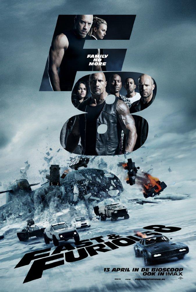 Fast and Furious 8 - Chị em lập team đi đua xe, đập lộn vì trai đẹp - Ảnh 1.