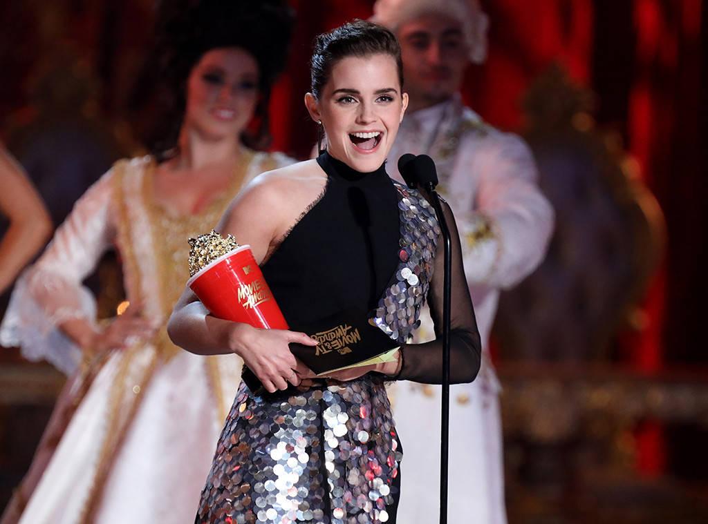 Emma Watson thắng giải diễn xuất ở hạng mục không phân biệt giới tính đầu tiên của MTV Awards - Ảnh 1.