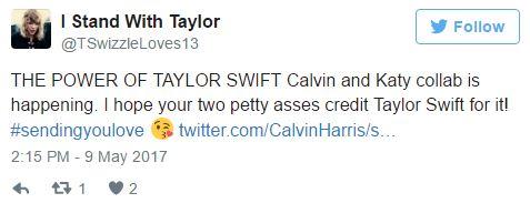 Katy Perry hợp tác với Calvin Harris nhưng... Taylor Swift lại bị gọi hồn nhiều nhất - Ảnh 4.