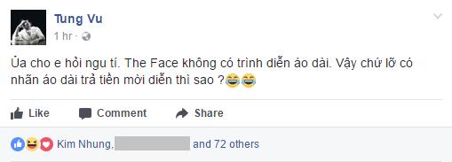 Kim Nhung - Người mẫu bỏ thi The Face, chê Hoàng Thùy ai dạy ai thật ra chưa biết là ai? - Ảnh 1.