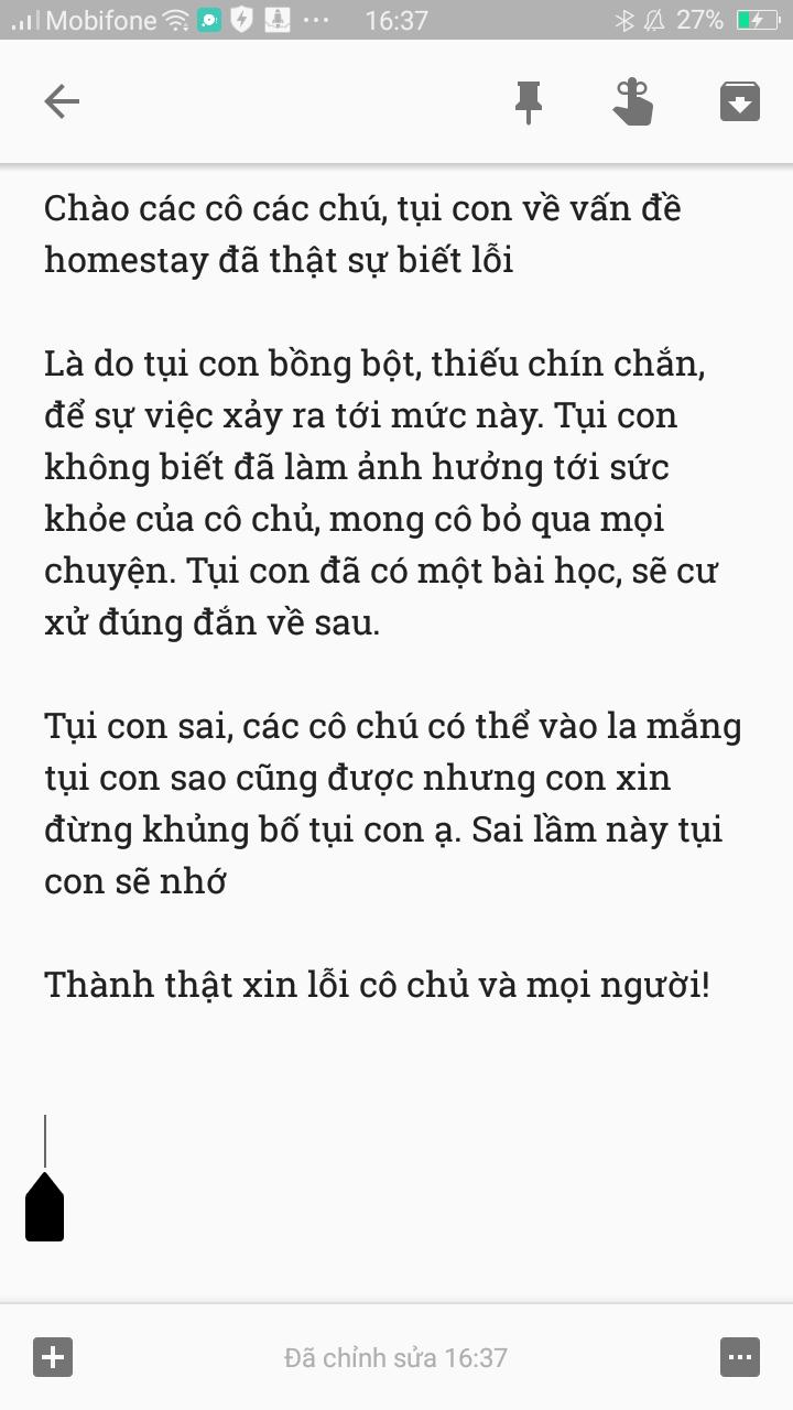 Nhóm học sinh lớp 9 xin lỗi cô chủ homestay ở Vũng Tàu sau khi nhậu say, đập phá tài sản giữa đêm - Ảnh 8.