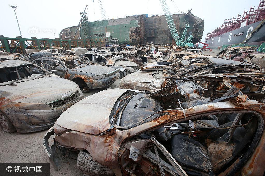 Hình ảnh hơn 100 ô tô biến thành đống sắt gỉ sau 3 năm nằm dưới đáy biển cùng phà Sewol khiến nhiều người rùng mình - Ảnh 5.