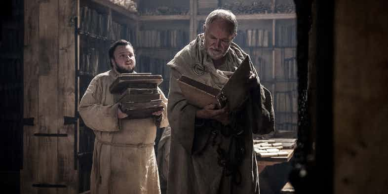 Có phải Samwell Tarly chính là tác giả của Game of Thrones? - Ảnh 1.