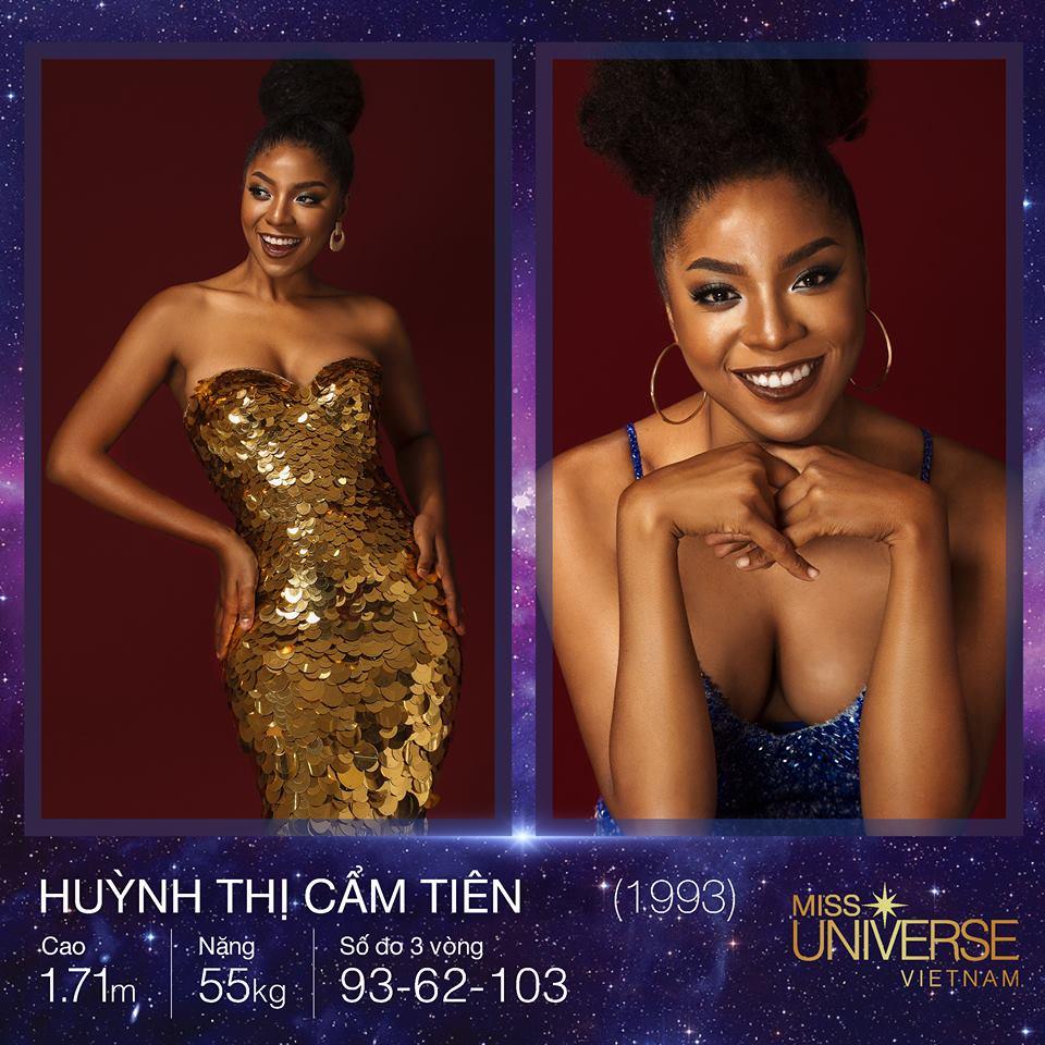 Nhan sắc ấn tượng của người đẹp gốc Phi được ủng hộ nồng nhiệt tại Hoa hậu Hoàn vũ Việt Nam 2017 - Ảnh 1.