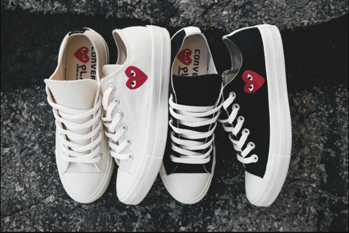 Converse x COMME des GARÇONS Play: đôi sneaker ra mắt đã lâu nhưng chưa bao giờ giới trẻ thôi mê đắm - Ảnh 2.