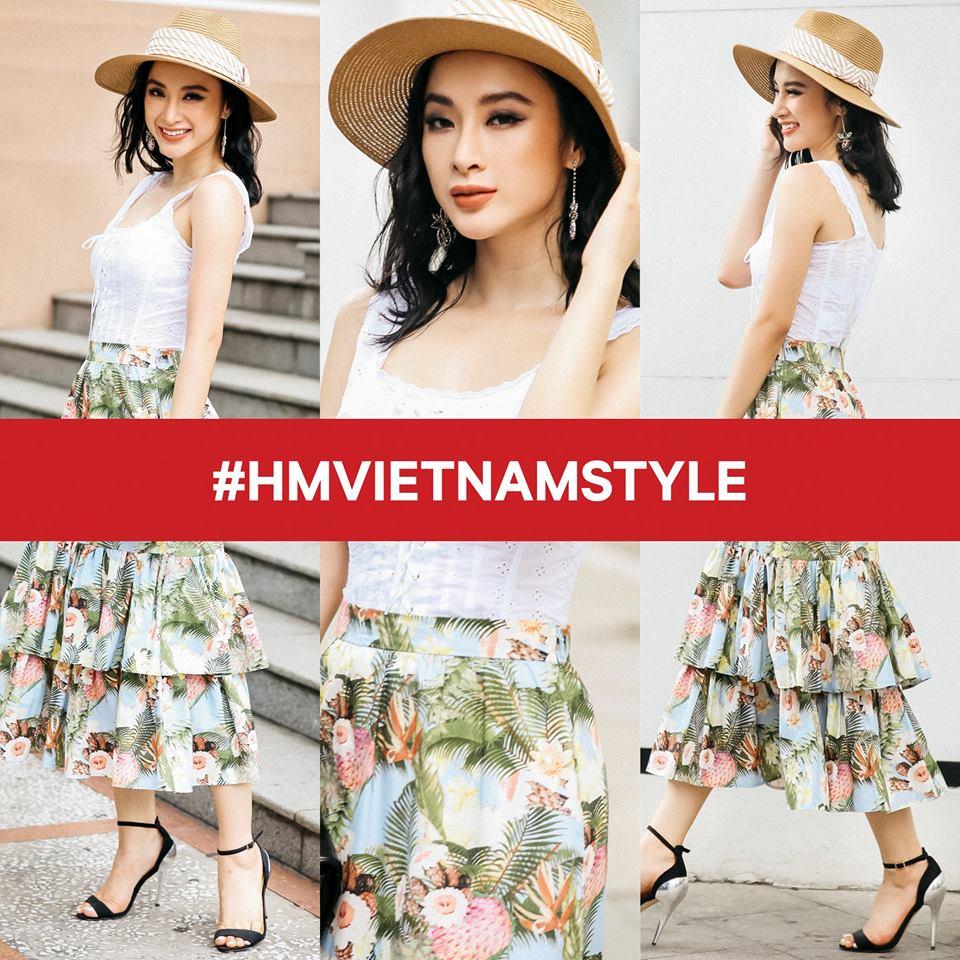 Angela Phương Trinh khoe clip lên đồ cho ngày khai trương H&M Việt Nam cực xịn - Ảnh 2.