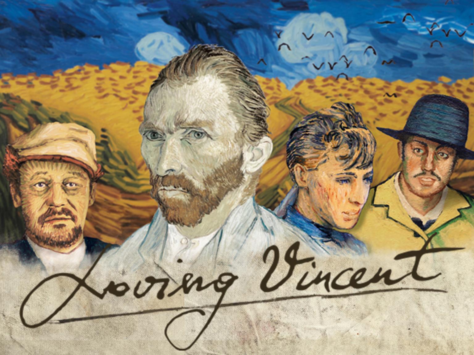 Loving Vincent - Một lần hiếm hoi, người ta thấy những cành diên vĩ lay động - Ảnh 1.