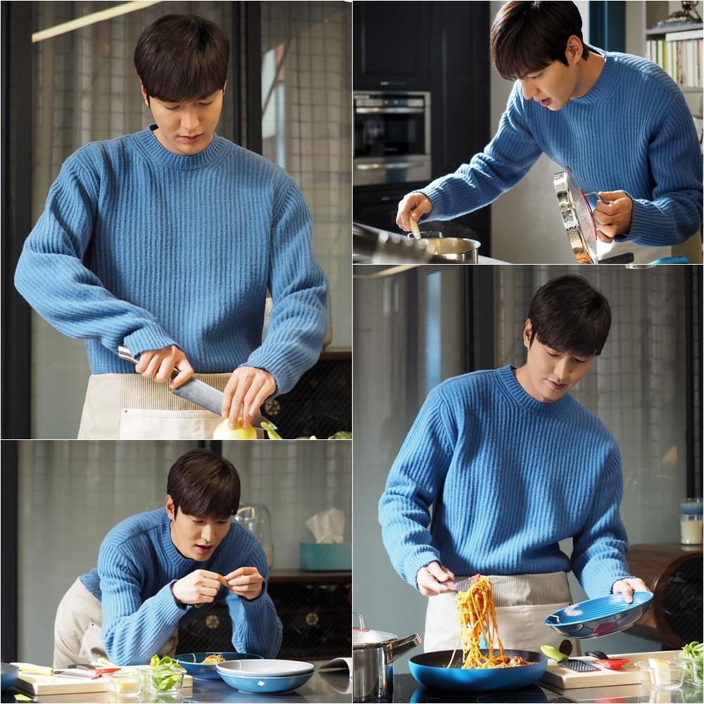 Đang đói mà nhìn Lee Min Ho làm pasta cho tiên cá Jun Ji Hyun là ... marry