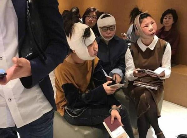 3 thiếu nữ sang Hàn quốc đập mặt đi xây lại xong không được lên máy bay về nước vì khác với ảnh hộ chiếu - Ảnh 1.