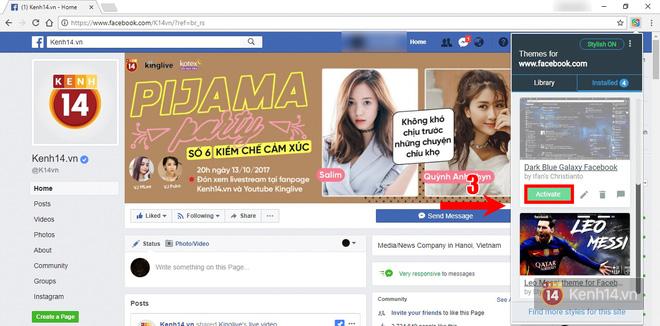 Làm thế nào để lột xác giao diện Facebook thành tác phẩm nghệ thuật của riêng bạn? - Ảnh 8.