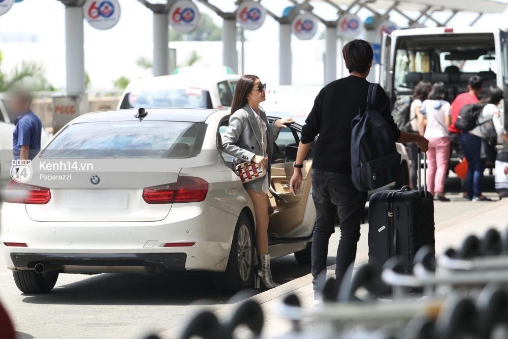 Chi Pu diện trang phục sành điệu, xuất hiện tươi tắn ở sân bay để sang Mỹ dự sự kiện - Ảnh 1.