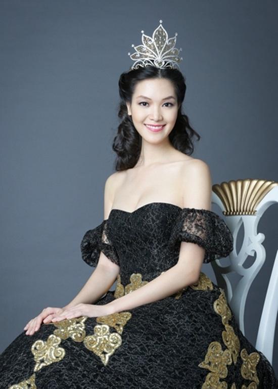 Sau 9 năm, Thùy Dung lần đầu được đề cử thi hoa hậu quốc tế - Ảnh 1.