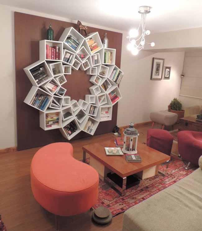 20 mẫu giá sách đẹp xuất sắc dù là người không thích đọc sách cũng muốn có trong nhà - Ảnh 1.