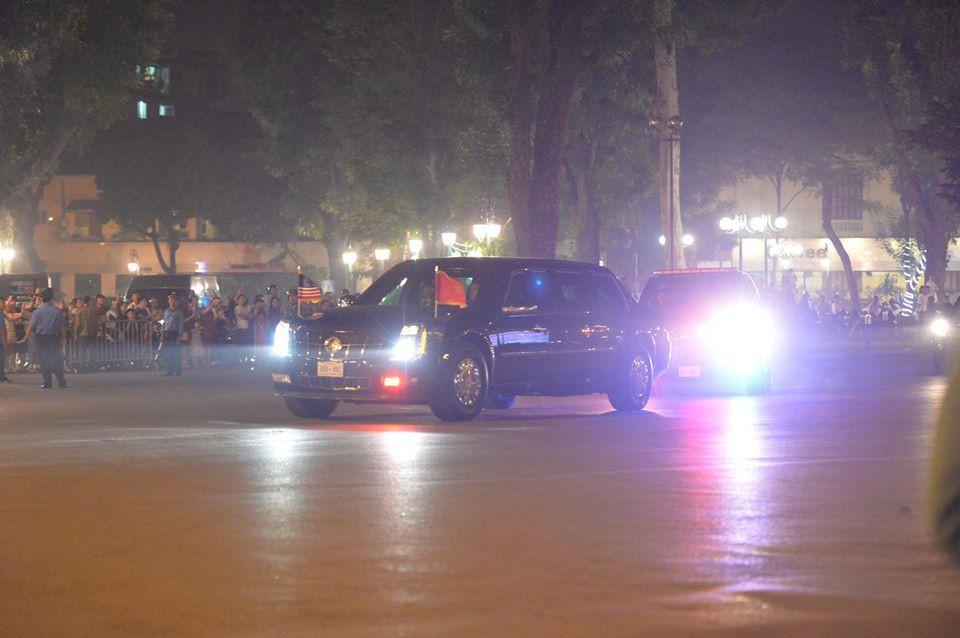 Tổng thống Mỹ Donald Trump đến Hà Nội, an ninh thắt chặt ở các tuyến phố trung tâm - Ảnh 22.
