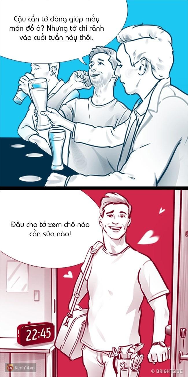 """10 dấu hiệu chỉ ra rằng chàng không chỉ coi bạn như """"bạn thân"""" hay """"em gái mưa"""" - Ảnh 1."""