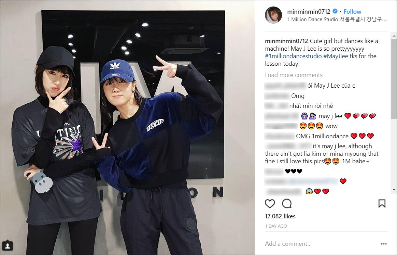 Nơi Min đang học nhảy tại Hàn Quốc có gì mà khiến nhiều fan Việt phát sốt đến vậy? - Ảnh 1.