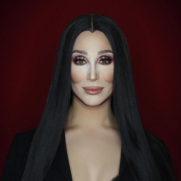 Nghệ sĩ trang điểm có thể hóa trang thành hàng trăm khuôn mặt khác nhau mà không cần photoshop - Ảnh 3.