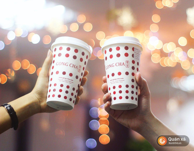 Gong cha vừa cho ra mắt phiên bản trà sữa nóng và đây là review về nó - Ảnh 3.