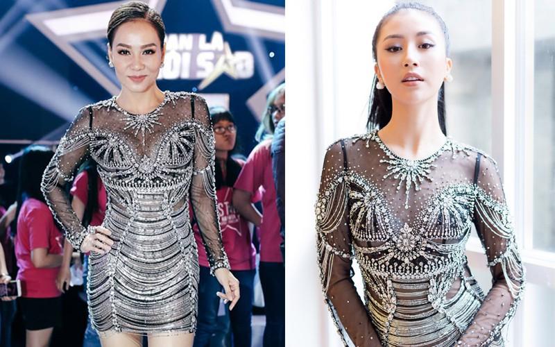 Váy sexy trưởng thành của Quỳnh Anh Shyn hóa ra được diva Thu Minh mặc từ 5 tháng trước - Ảnh 1.