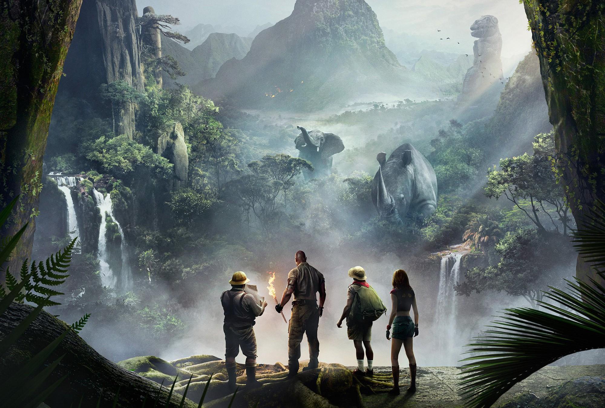 Jumanji: Welcome to the Jungle - Phiên bản reboot đầy tiếng cười và giải trí - Ảnh 1.