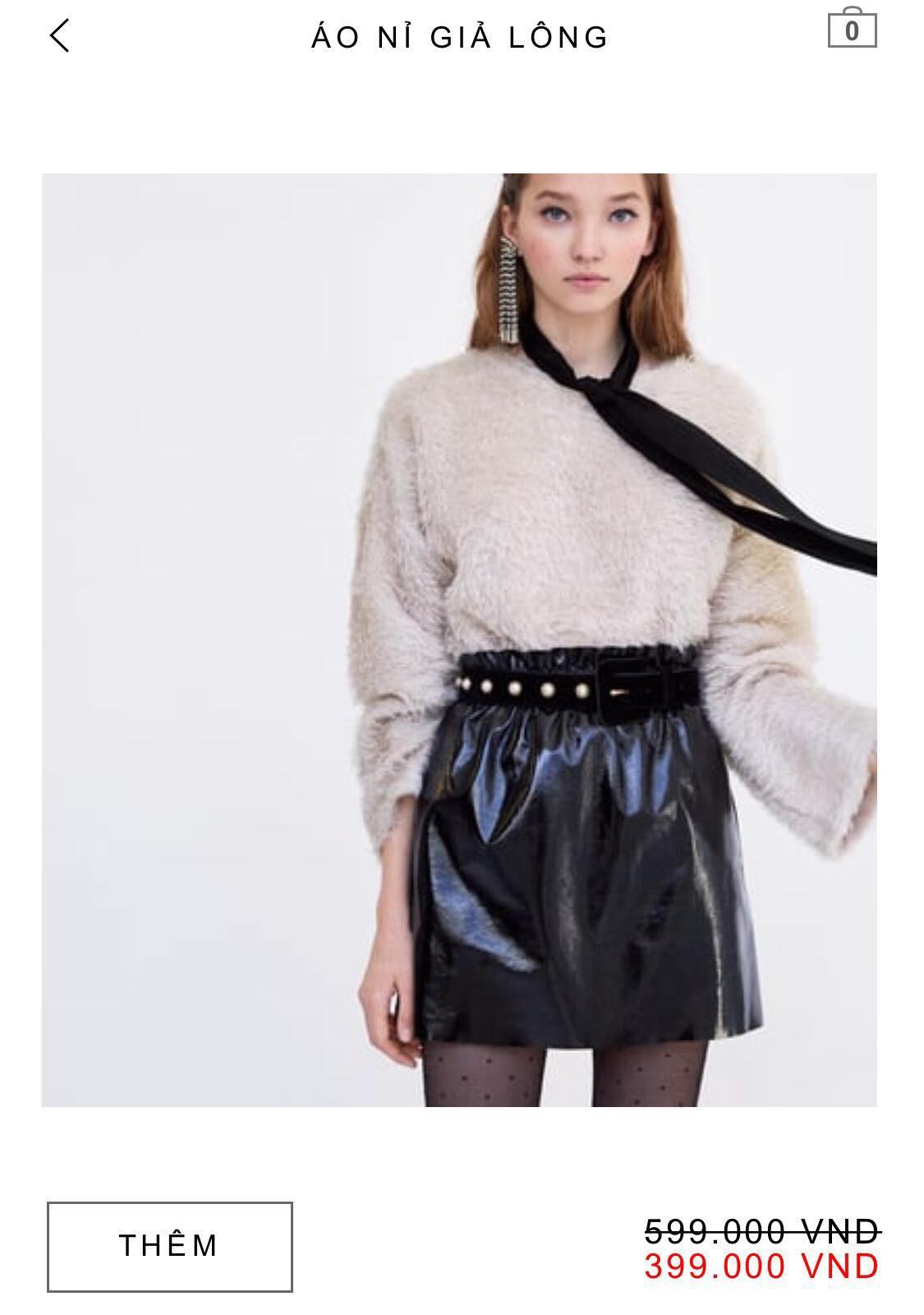 14 mẫu áo len, áo nỉ dưới 500.000 VNĐ xinh xắn, trendy đáng sắm nhất đợt sale này của Zara - Ảnh 1.