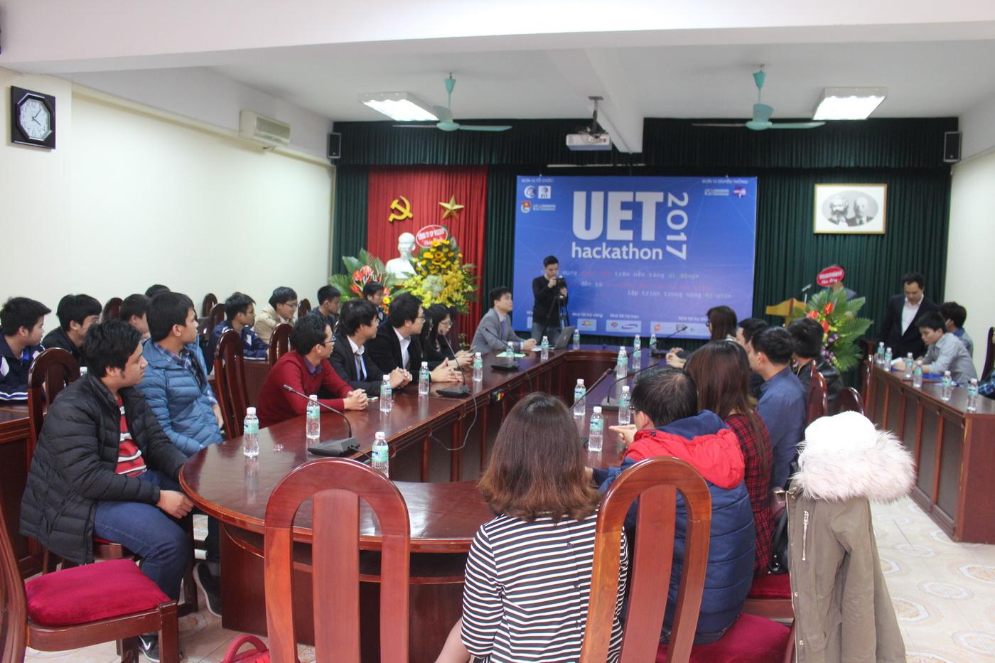 Khai mạc UET Hackathon 2017 - Nơi các anh tài công nghệ được hội tụ và thỏa sức sáng tạo - Ảnh 4.