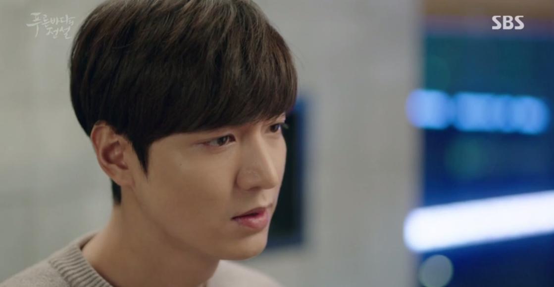 Huyền Thoại Biển Xanh: Gặp anh trai và bạn gái mình ăn mảnh, đố bạn Lee Min Ho nói gì? - Ảnh 13.