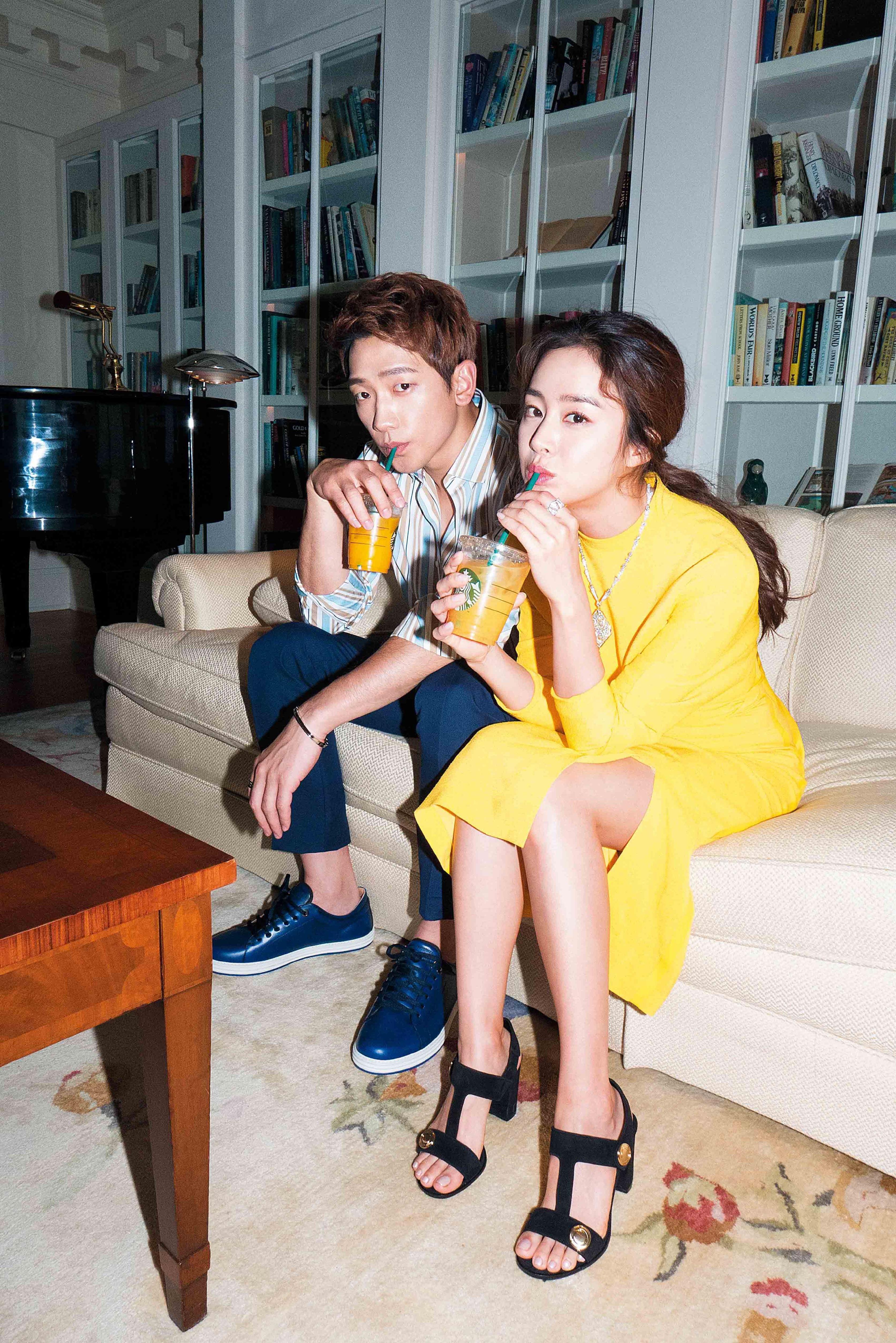 Kim Tae Hee và Bi Rain lộ khoảnh khắc chăm sóc nhau mùi mẫn hiếm hoi trên bìa tạp chí - Ảnh 7.