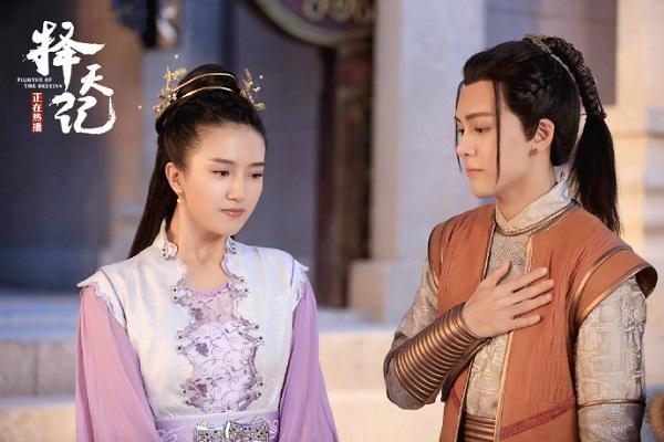 """""""Trạch Thiên Ký"""": Luhan e thẹn tỏ tình với thánh nữ Cổ Lực Na Trát - Ảnh 10."""