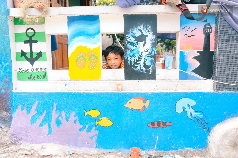 Lý Sơn đâu chỉ có biển đẹp, Lý Sơn giờ có cả một làng bích họa mới toanh cho bạn tha hồ chụp ảnh - Ảnh 10.