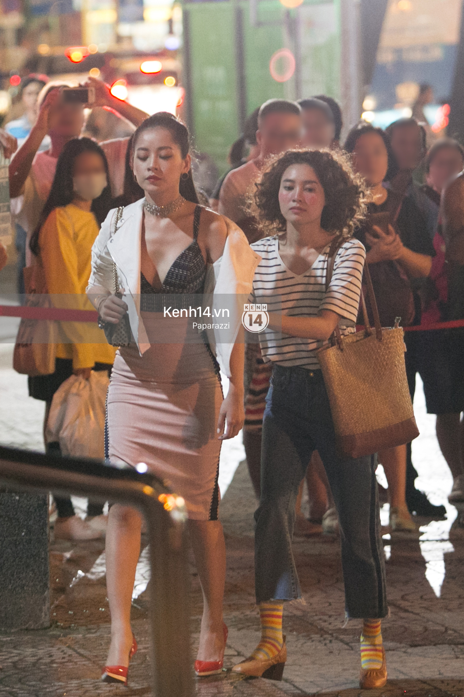 Clip: Hé lộ diễn xuất, nhan sắc khi chưa photoshop của Chi Pu, Lan Ngọc trong phim She was pretty bản Việt - Ảnh 11.