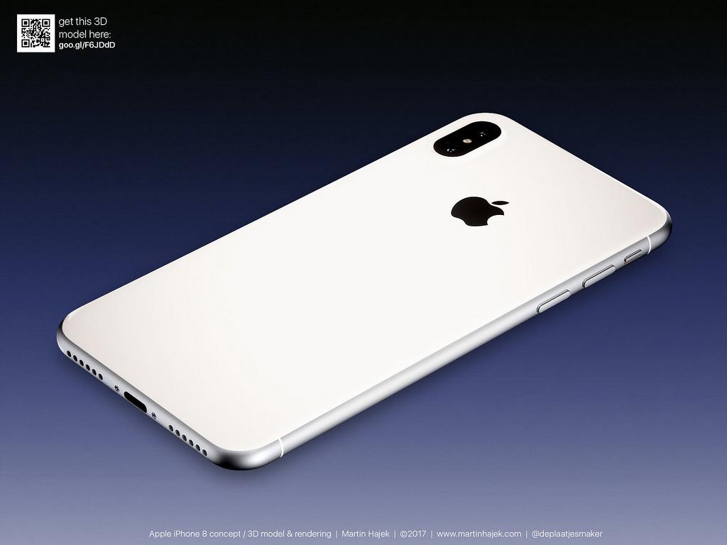 Cận cảnh vẻ đẹp mê mẩn của iPhone 8 có thể làm bạn dốc hết hầu bao để mua ngay - Ảnh 2.