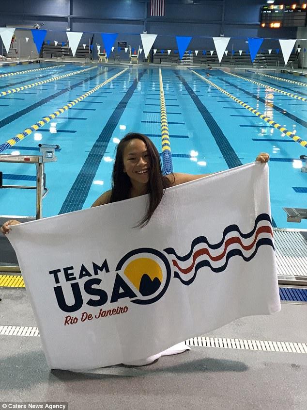 Qua bao bất hạnh cuộc đời, cô bé khuyết tật gốc Việt vẫn theo đuổi ước mơ trở thành VĐV bơi lội và làm nên kỳ tích tại Mỹ - Ảnh 2.