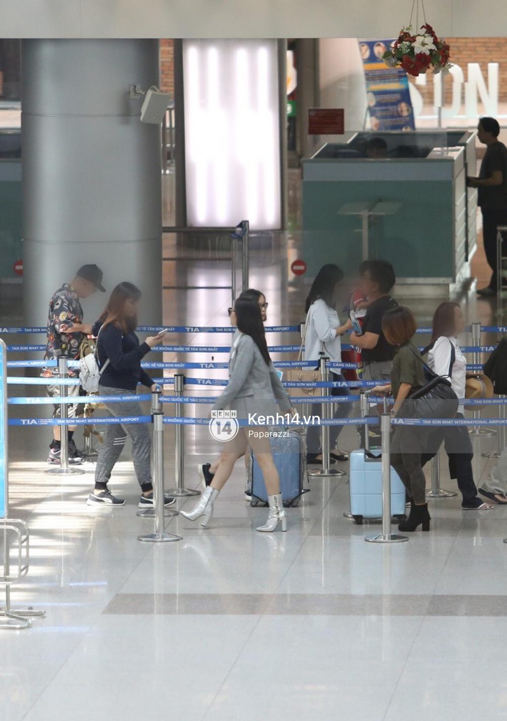 Chi Pu diện trang phục sành điệu, xuất hiện tươi tắn ở sân bay để sang Mỹ dự sự kiện - Ảnh 9.