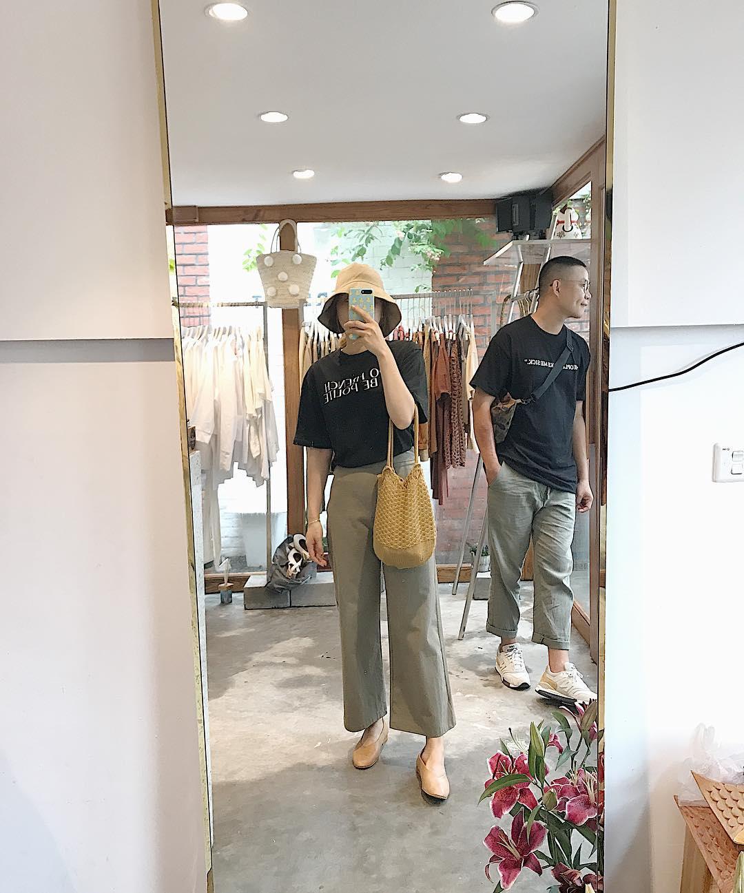 Ngạc nhiên chưa: Quần khaki ống rộng thời của bố mà Sơn Tùng từng mặc đang là hot trend của con gái khắp châu Á - Ảnh 10.
