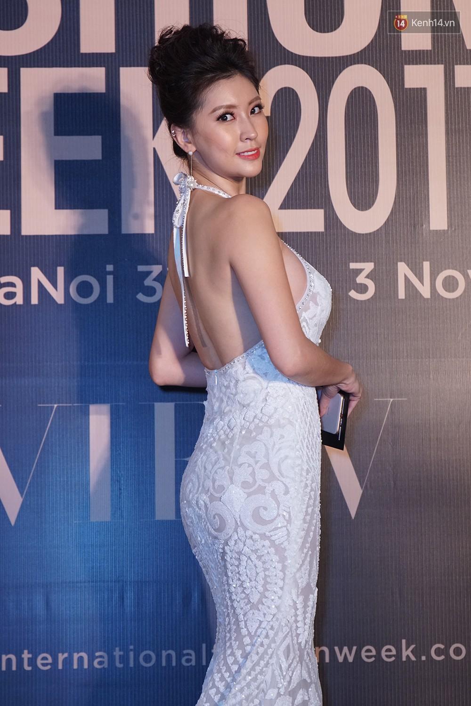 Thảm đỏ VIFW ngày 2: Giữa một dàn hot girl áo dài Quỳnh Anh Shyn, Salim... bỗng xuất hiện Linh Ka mặc váy trắng công chúa - Ảnh 19.