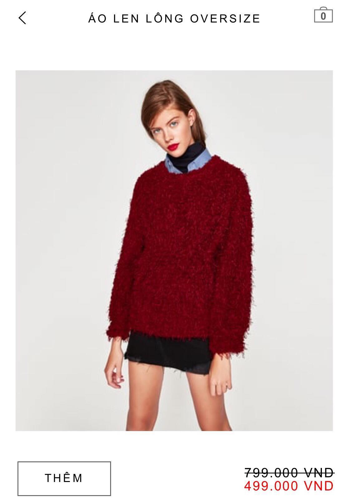 14 mẫu áo len, áo nỉ dưới 500.000 VNĐ xinh xắn, trendy đáng sắm nhất đợt sale này của Zara - Ảnh 5.
