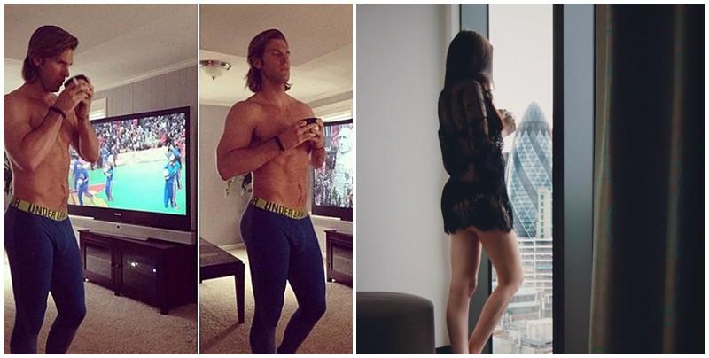 Khi các chàng trai tạo dáng, nhái bén từng bức ảnh Instagram vốn quen thuộc của hội gái xinh - Ảnh 2.